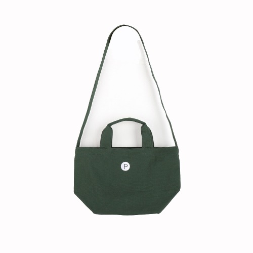 CVS BAG DARK GREEN